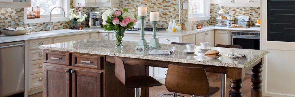 - Kitchen Island Breakfast Bar -