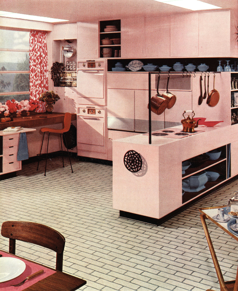 - Pink Kitchen -