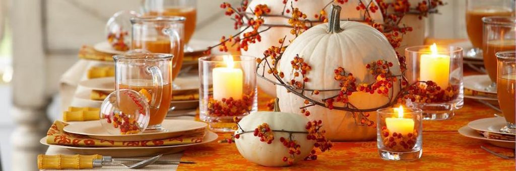 - Thanksgiving Kitchen Decorations Header -