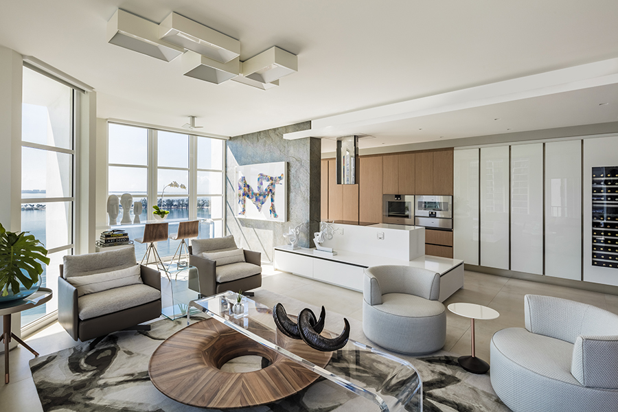- Copy of BRICKELL PENTHOUSE 2 Kitchen and Living -