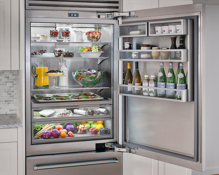 - Fridge Interior Full Angle -