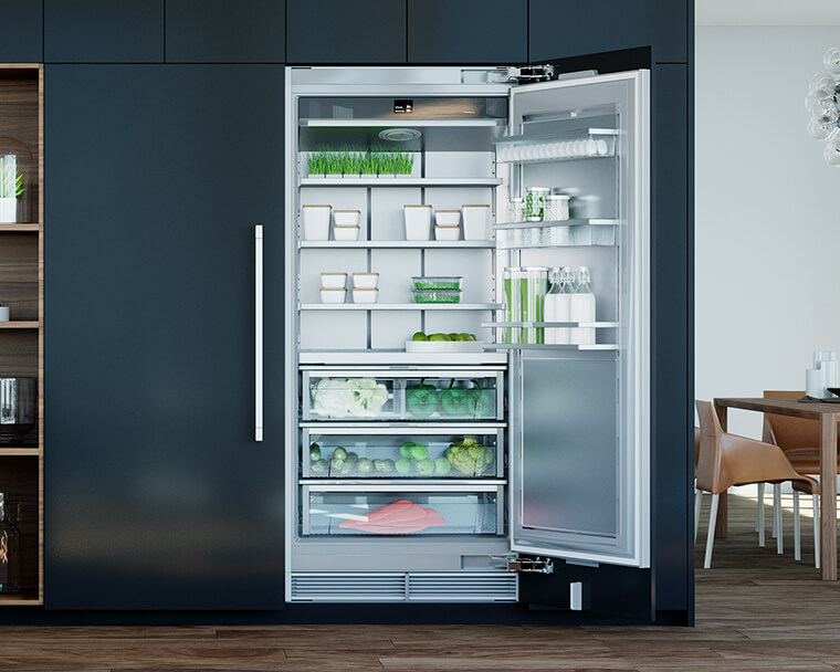 - Liebherr Fully integrated appliance -